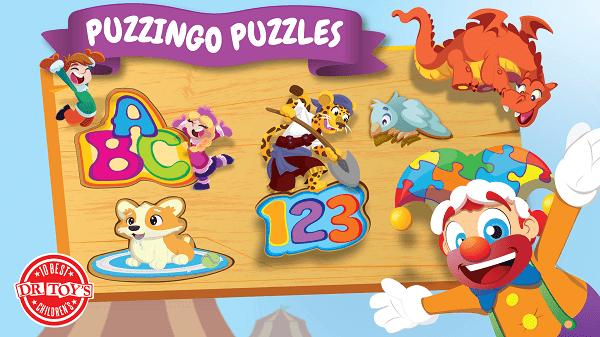 Puzzingo Kids & Toddlers Puzzles