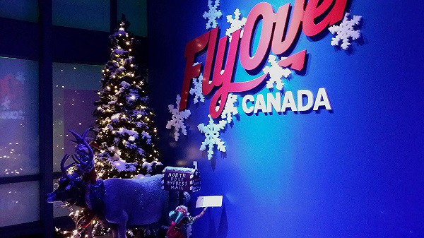 FlyOver Canada Christmas Experience