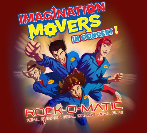 Imagination Movers Rock-O-Matic Giveaway
