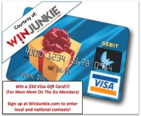 WinJunkie $50 Visa Gift Card Giveaway