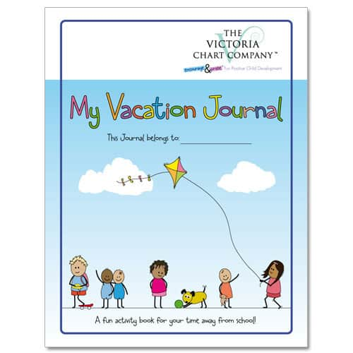 The Victoria Chart Company Vacation Journal Review & Giveaway