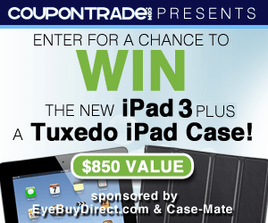 iPad and Tuxedo Case Giveaway