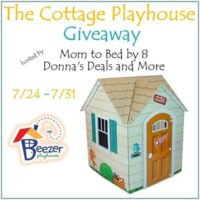 Breezer Playhouses Giveaway