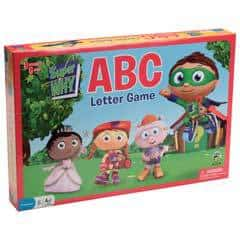 Super Why ABC Letter Game Review