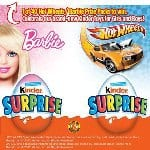 New Barbie™ and Hot Wheels™ Toys from KINDER® Canada