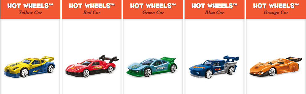 Hot Wheels Kinder Canada