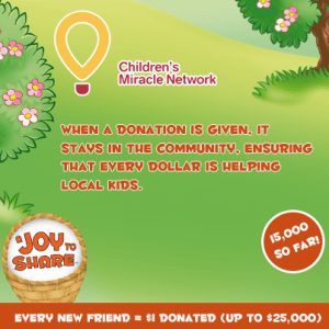 Kinder Canada & Children's Miracle Network