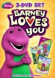 Barney Loves You 3 DVD Set Review & Giveaway