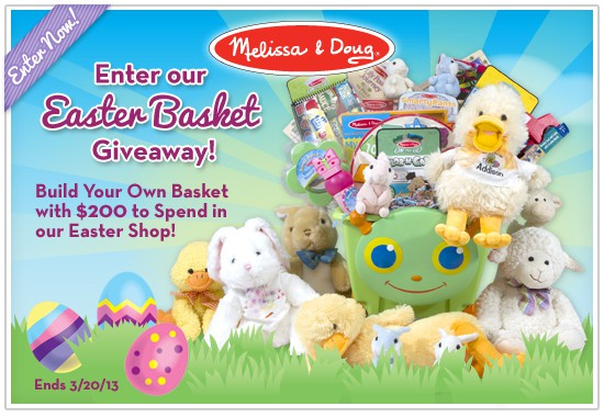 Melissa and Doug Easter Shop and Giveaway