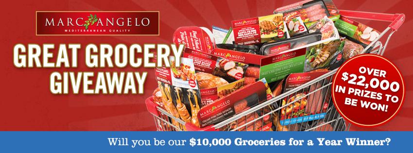 MarcAngelo Great Grocery Giveaway