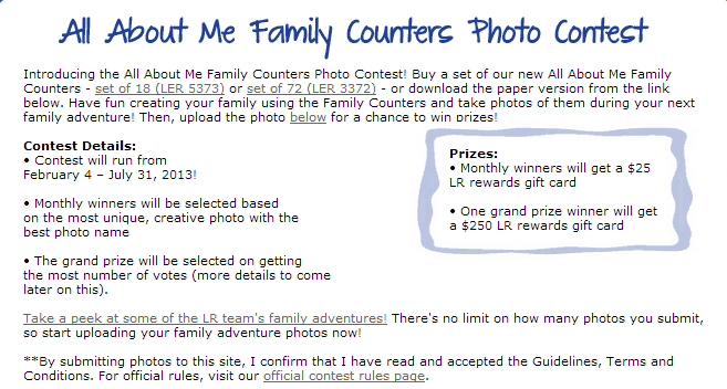 All About Me 2013 Contest   Learning Resources®