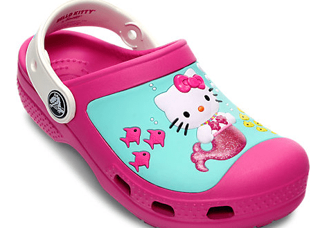 Hello Kitty Mermaid Crocs