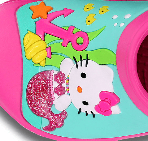 Creative Crocs™ Hello Kitty® Mermaid Clog - Left Foot
