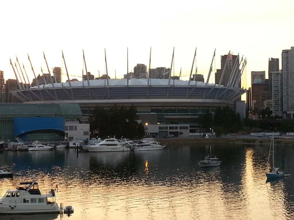 View of BC Place