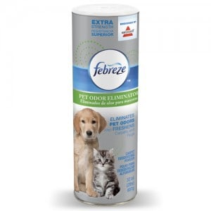 Febreze® Extra Strength Pet Odor Eliminator Carpet Deodorizing Powder