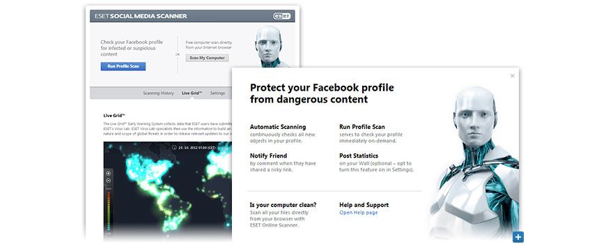 ESET Social Media Scanner