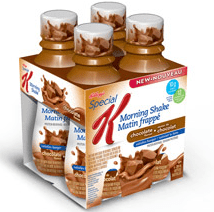 Chocolate Flavour Morning Shakes   Special K