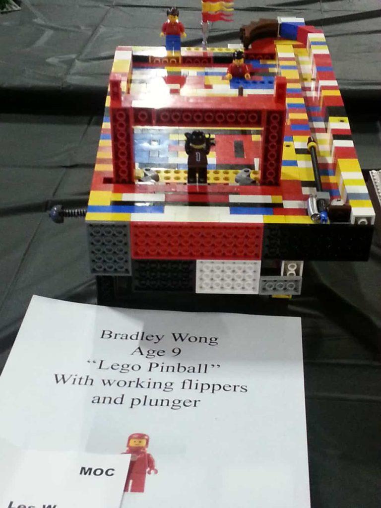 Lego Pinball By:  Bradley Wong Age 9