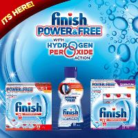 NEW Finish® Power & Free™