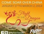 FlyOver Canada Celebrates Chinese New Year
