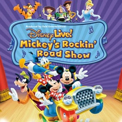 Disney Live:  Mickey's Rockin Road Show Giveaway