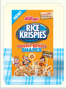 Rice Krispies  Multi Grain Shapes