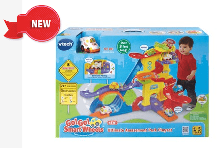 Go  Go  Smart Wheels   Ultimate Amaze ment Park Playset   Go Go Smart Wheels   VTech Toys Canada