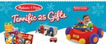 Melissa & Doug's Terrific 25 Giveaway
