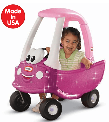 Princess Cozy Coupe® with Glitter at Little Tikes