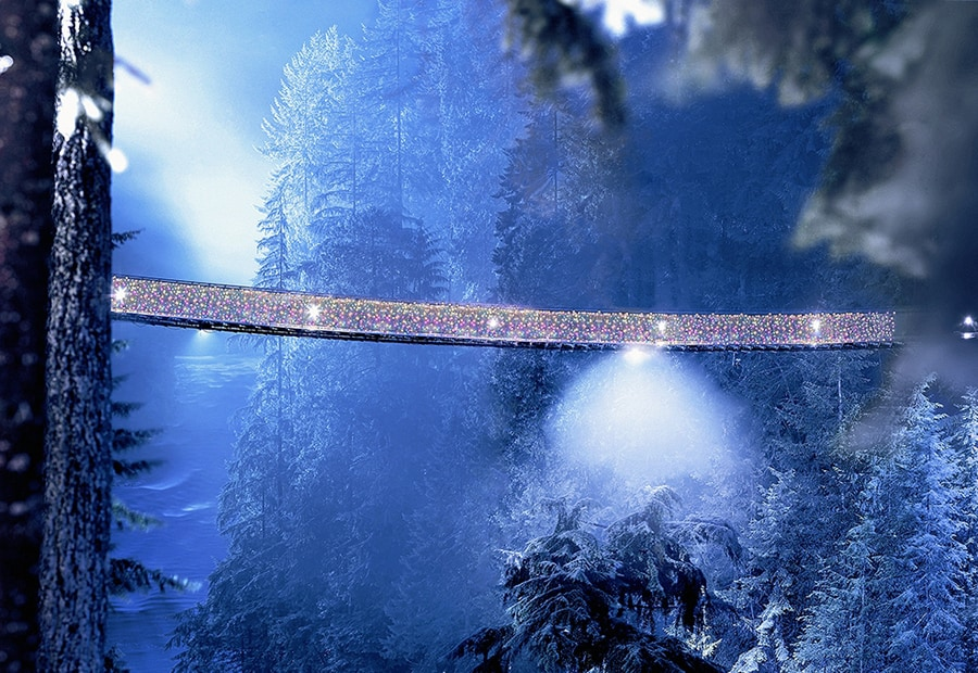 Canyon Lights - Credit Tourism Vancouver
