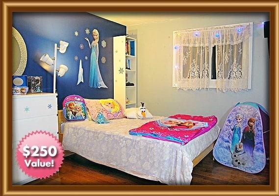 Disney Frozen Ice Princess Bedroom Makeover – Showcase