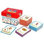 Junior Learning – CVC Builders Activity Cards & Tub