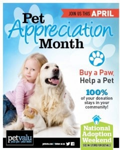 Pet Appreciation Month