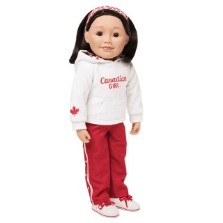 Strong and Free Maplelea Doll set