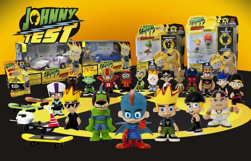 Johnny Test collectibles
