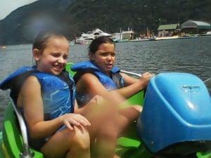 bumper boat fun