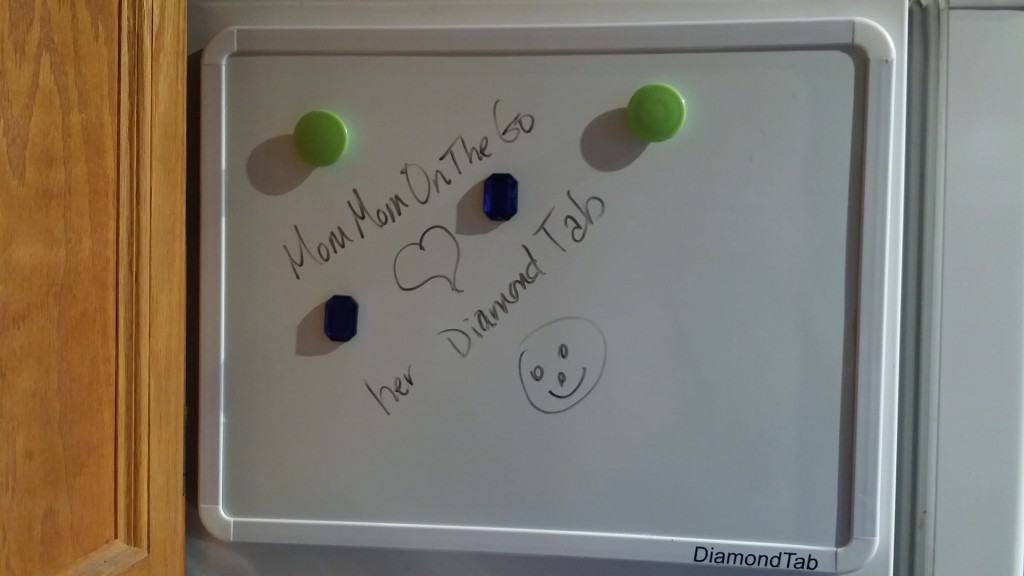 Diamond Tab Whiteboard