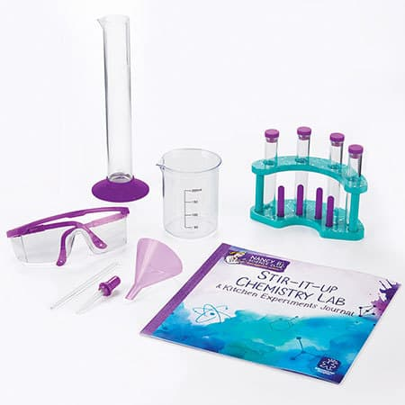 Nancy Bs Science Club Stir It Up Chemistry Lab & Kitchen Experiments Journal
