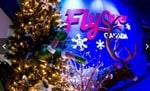 Celebrate Christmas at FlyOver Canada