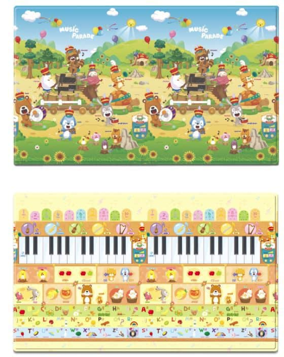 music parade playmat
