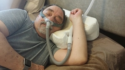 CPAP Arm resting