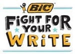 BIC Fight for your Write 2016