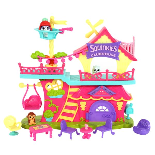 Squinkieville Clubhouse Playset