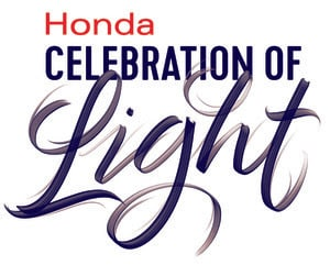 Honda Celebration of Light Giveaway