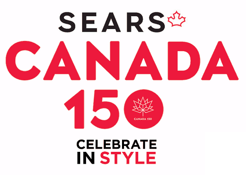 Celebrating Canada 150 with Sears Canada!