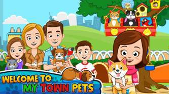 "My Town™ Welcomes ""Pets"" to the Digital  Neighborhood"