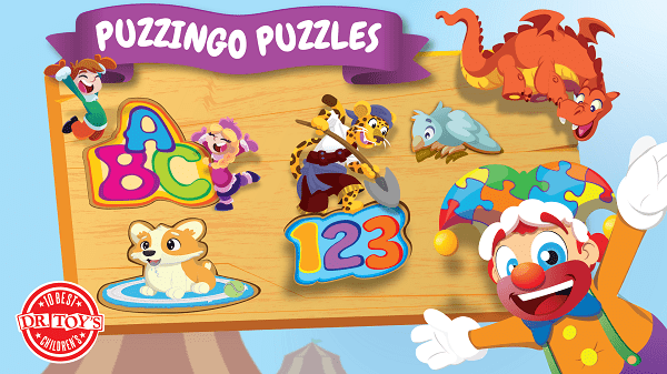 Puzzingo Kids & Toddlers Puzzles