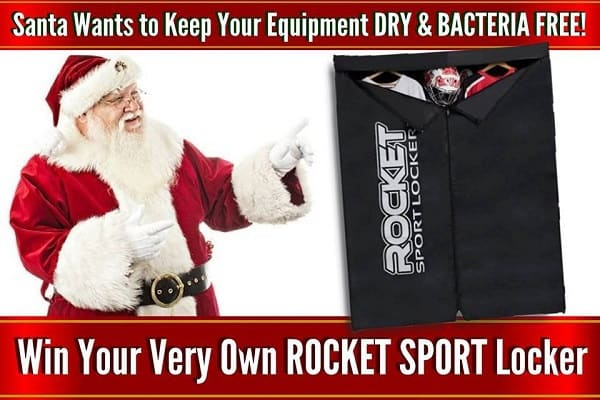 Rocket Sport Locker Christmas Giveaway 2017