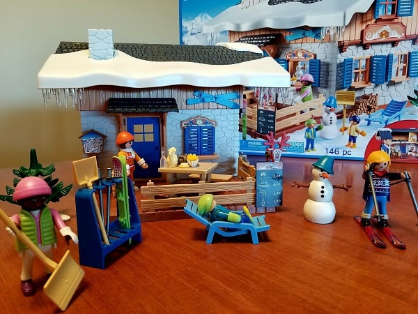 playmobil ski lodge - Playmobil Ski