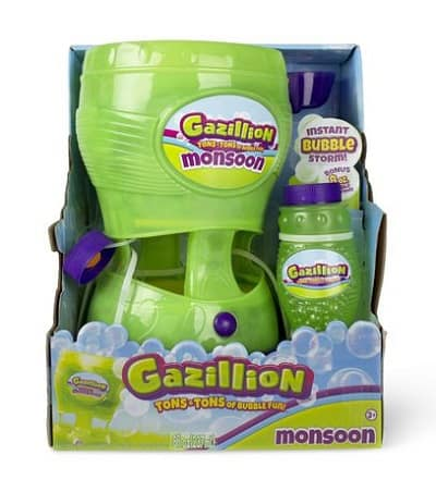 Gazillion Bubbles – Monsoon